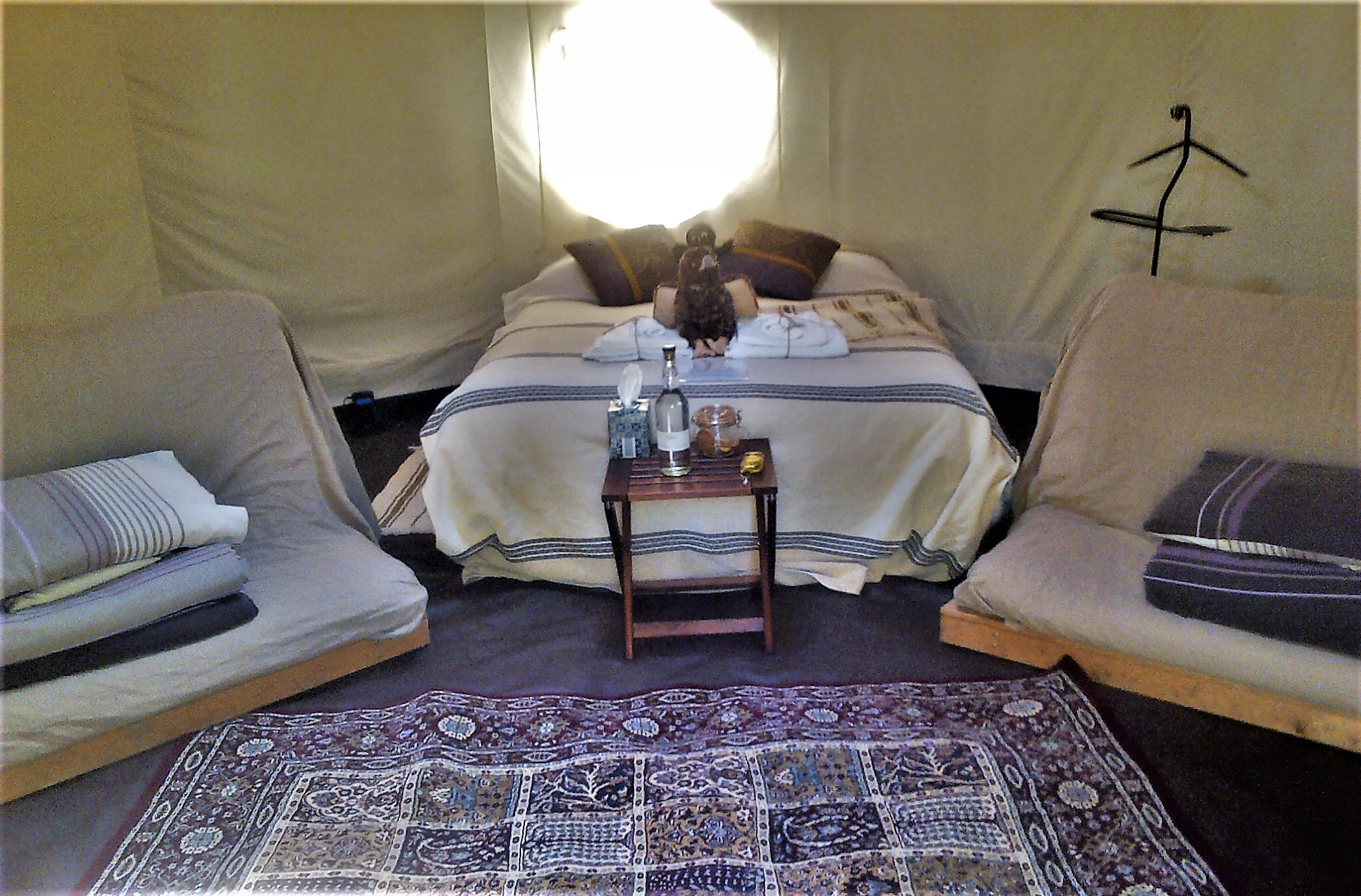 Inside a luxury off-grid Yurt in Somerset at Woodland Escape Glamping Holidays, somerset glamping woodlandescape.co.uk