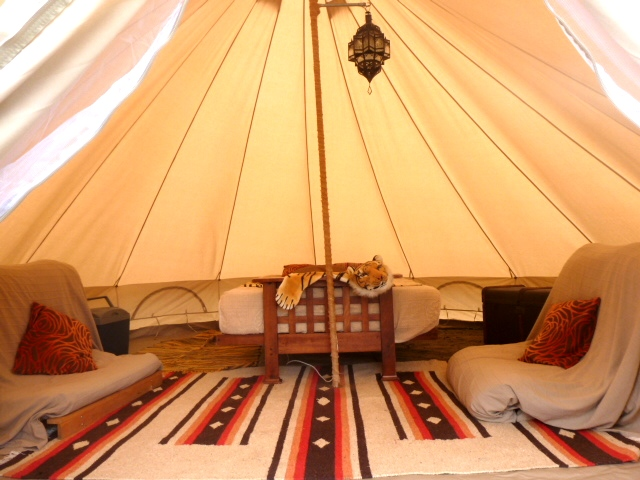 Luxury gl&ing ... & Glamping in Somerset at Woodland Escape